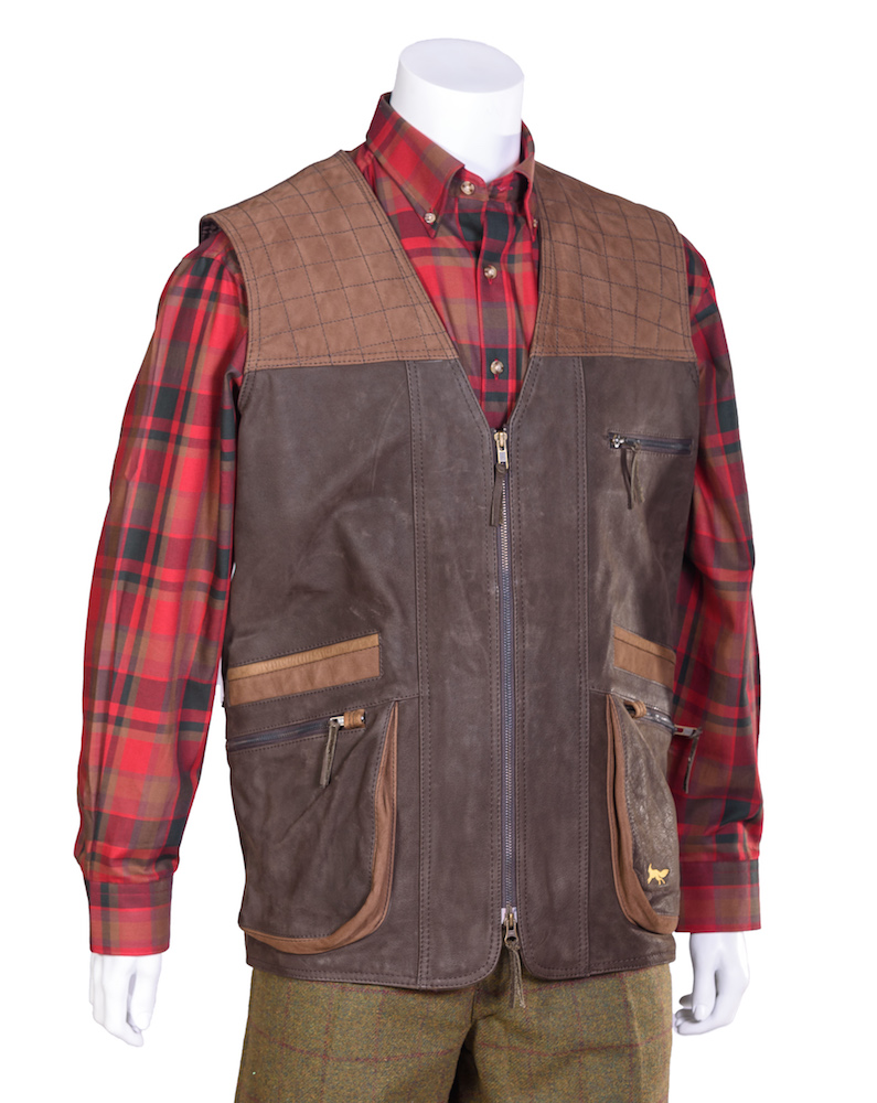 Deer shooting vest