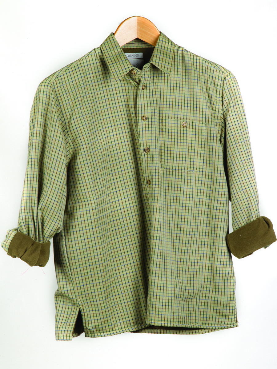 Grendon childrens fleece-lined shirt