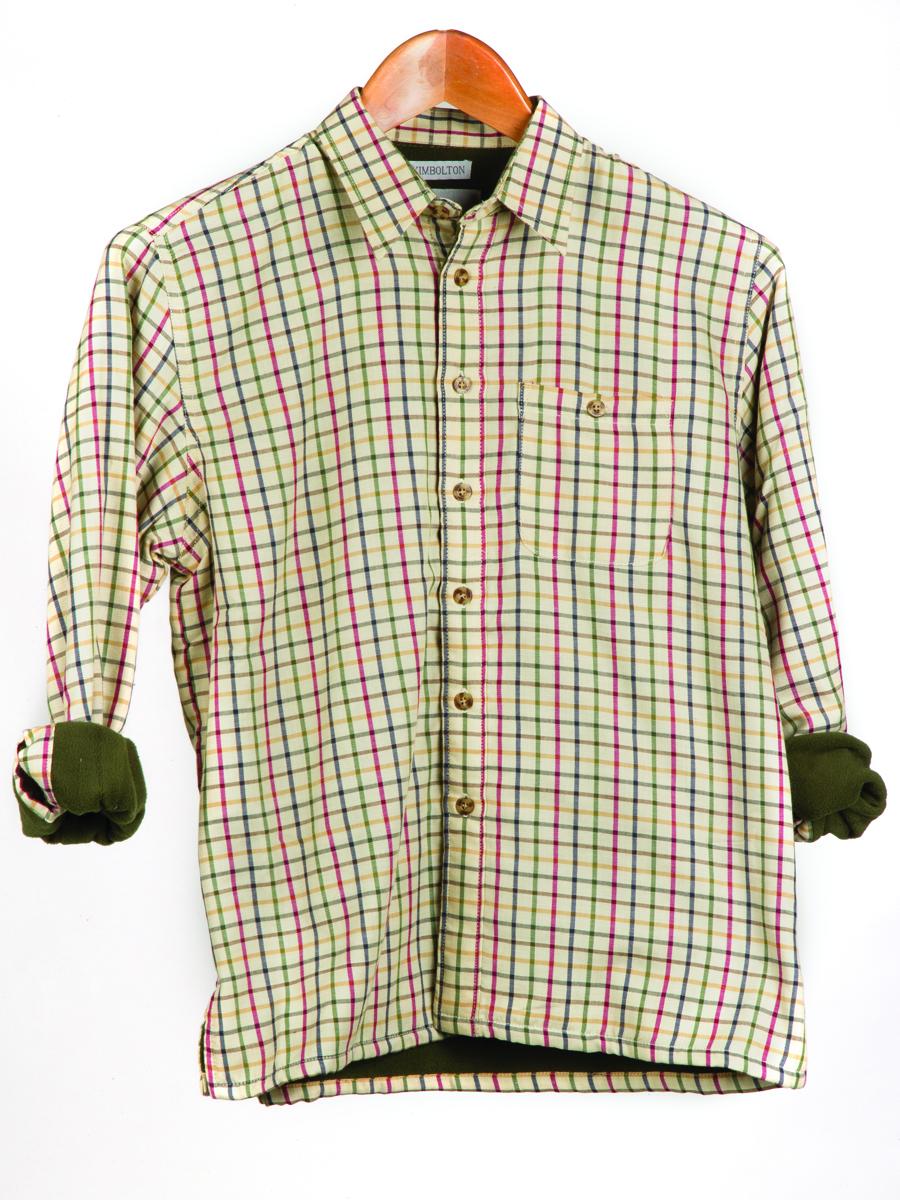 Kimbolton childrens fleece lined shirt