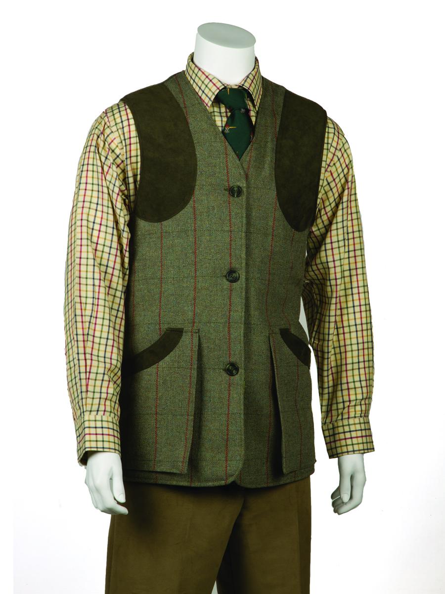 Monarch Tweed Shooting Waistcoat