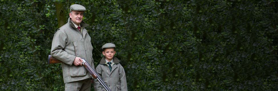 Father and Son in Bonart Country Clothing