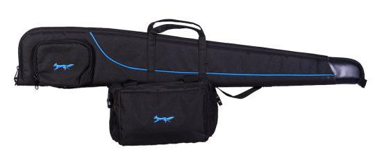 Shotgun Slip and range bag in Black/Royal